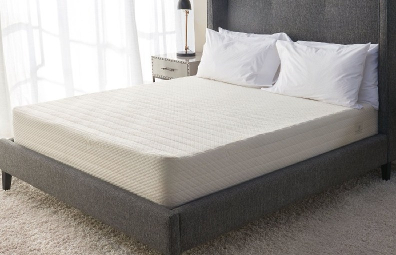 mattress on platform bed