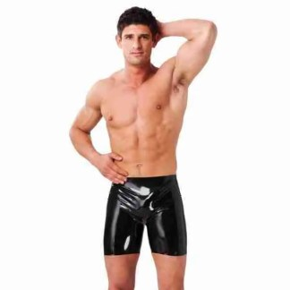 Latex Mens Bermuda Shorts 1