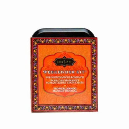 Kama Sutra Weekender Kit In A Tin Tropical Mango 1