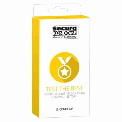 Secura Kondome Test The Best Mixed x12 Condoms 1