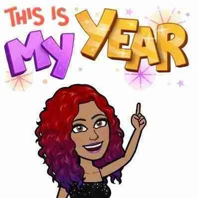 This Is My Year Bitmoji