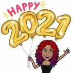 Happy 2021 Bitmoji