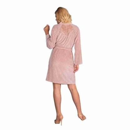 Corsetti Mikiss Dressing Gown Pink 2
