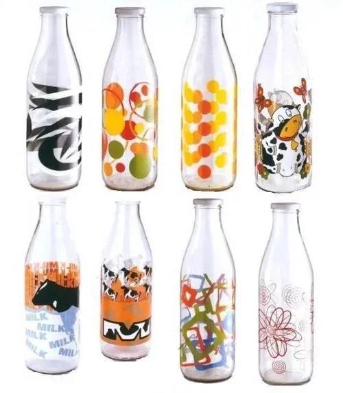Milchflaschen bedrucken
