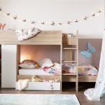 Finley Bunk Bed Oak And White 3 0 Euro Single Bed Sava