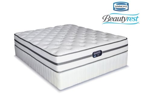Simmons Beautyrest Classic Firm Queen Size Bed Set Extra Length