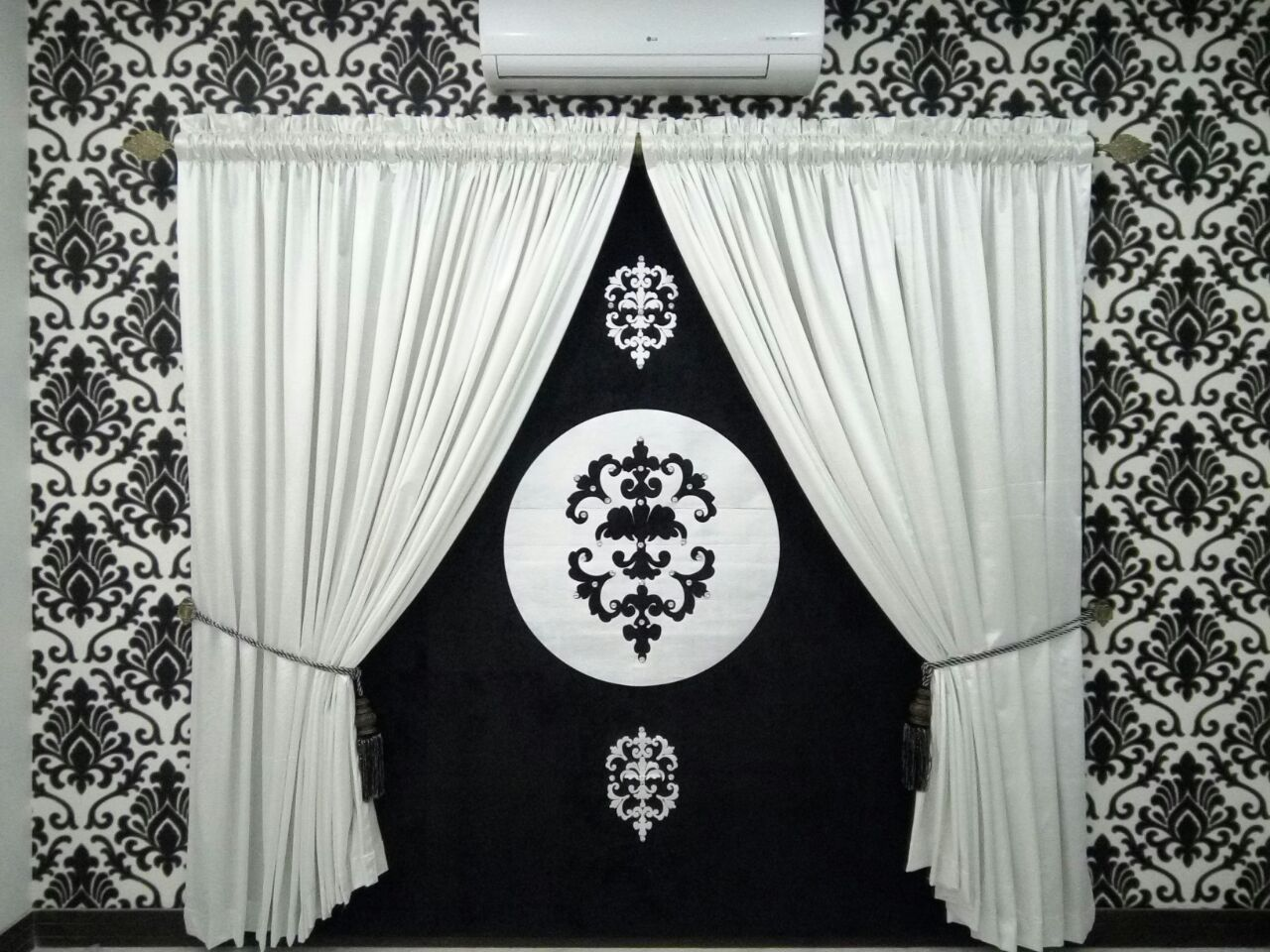 black white curtains for sale in pakistan