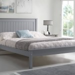 Limelight Beds Taurus Low 3ft Single Wooden Bedstead Grey
