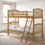 Artisan Oak 3ft Single Wooden Bunk Bed