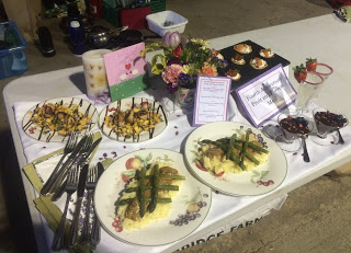 Cookery Competition and Farm Awareness Talk 2015