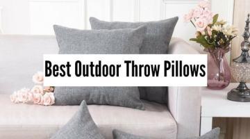 Best Outdoor Throw Pillows You'll Love