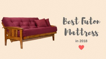 Best Futon Mattress in 2018 That's Stylish & Convert to a Bed Easily
