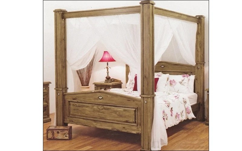 Suffolk 4 Poster Timber Bed Frame Suite Options