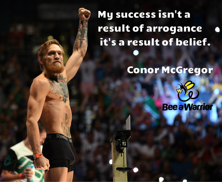 CONOR'S POWER OF MIND LEADING TO HIS SUCCESS. FROM AN APPRENTICE PLUMBER, TO KING OF MENTAL WARFARE.