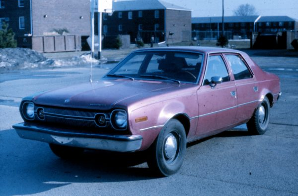 My 1973 Hornet in 1982, held together with bubble gum, rubber bands, blood, sweat, and love.