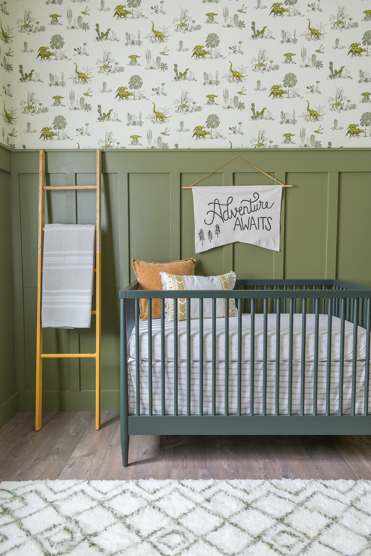 baby boy dinosaur nursery beebout design