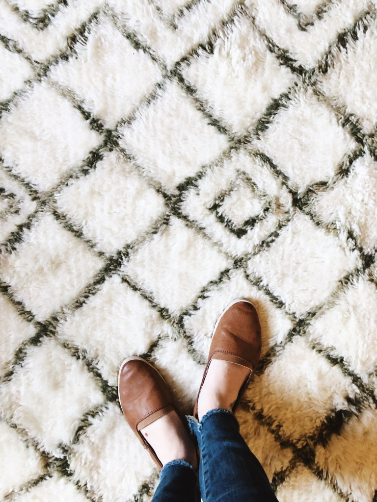 One Room Challenge Week 5 Rug Selection by Beebout Design