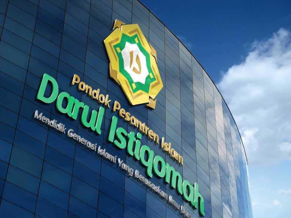 Rebranding Ponpes Darul Istiqomah corporate brand identity desain logo Corporate Brand Identity Desain Logo 3d desain logo daris