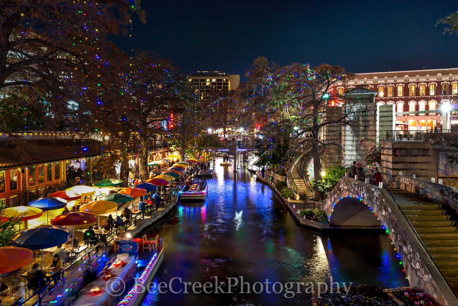 Lights Riverwalk San Christmas Antonio