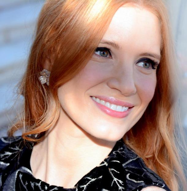 Incredible Jessica Chastain Vegan
