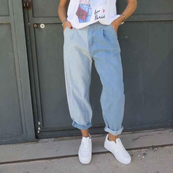 Jeans Bicolor Min