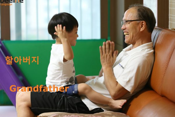 how to say grandfather in korean