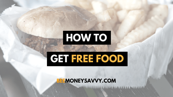 How to get FREE* FOOD!
