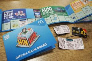 McDonalds Monopoly Win