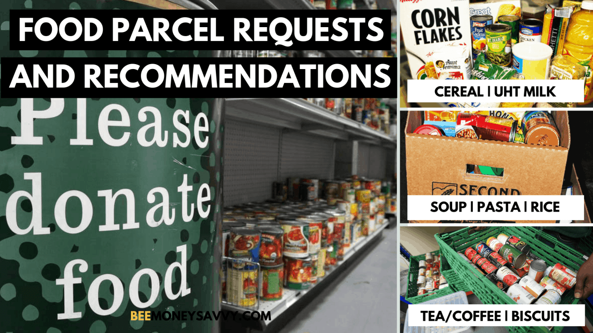 Food bank requests