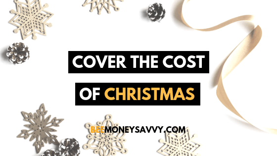 Cover The Cost Of Christmas Without December's Pay