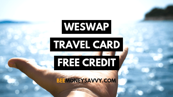 WeSwap: Free £10 with Travel Card
