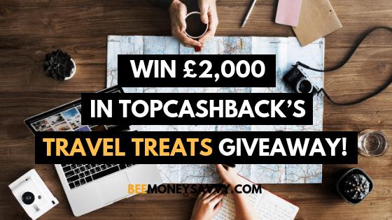 TopCashback: #TravelTreats £2000 Giveaway!