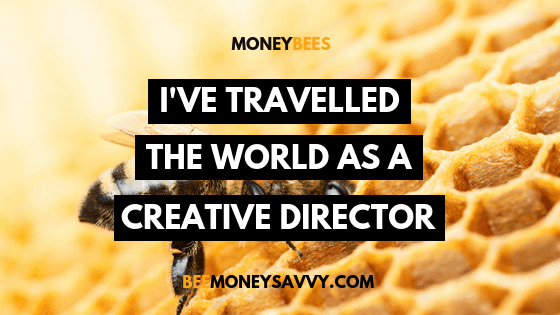 "Money Bee Stories: ""I've travelled the world as a Creative Director"""
