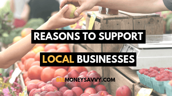 Reasons to Support Local Businesses