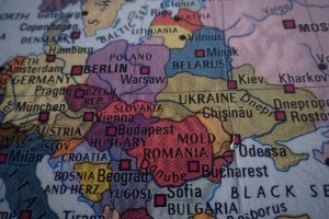 carte europe de l'est