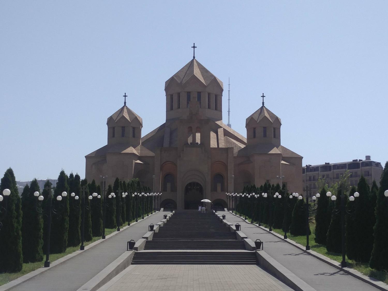 Yerevan, a french city in Armenia