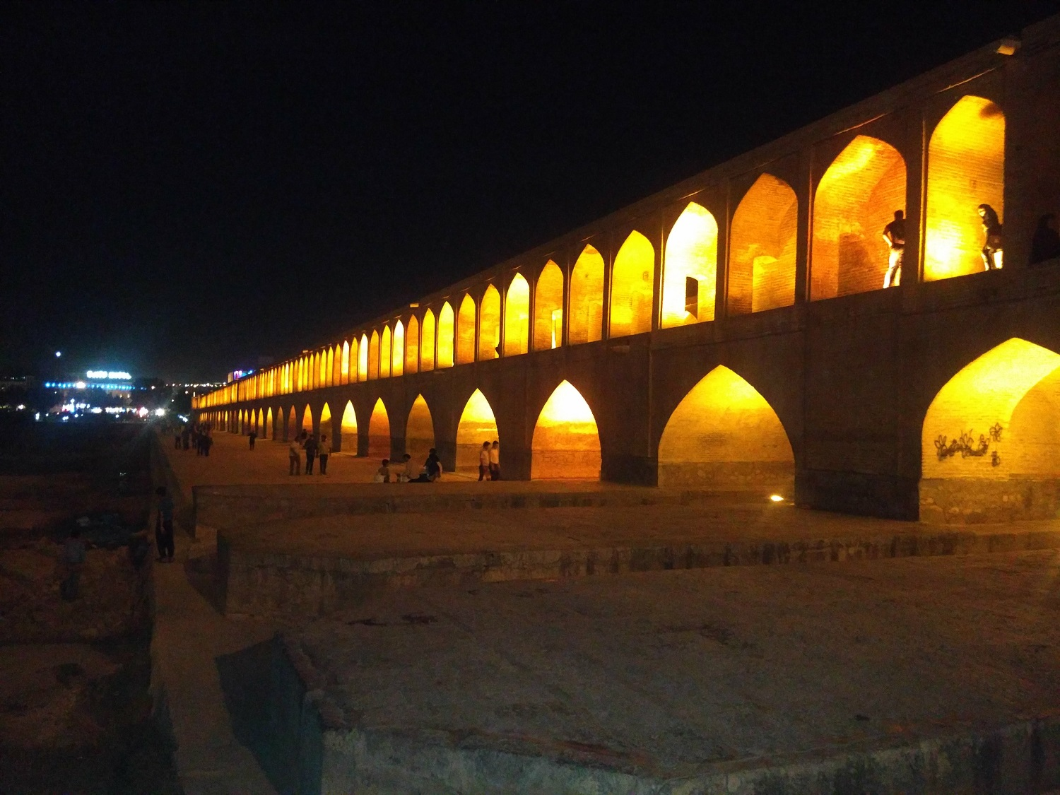 Isfahan, half of the world