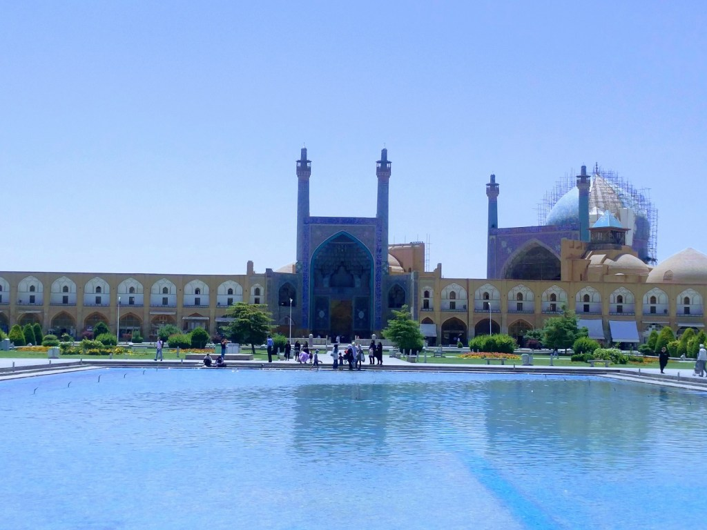 shah mosque isfahan
