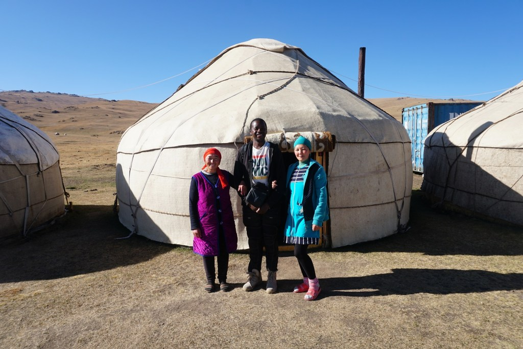 photo yurt central asia