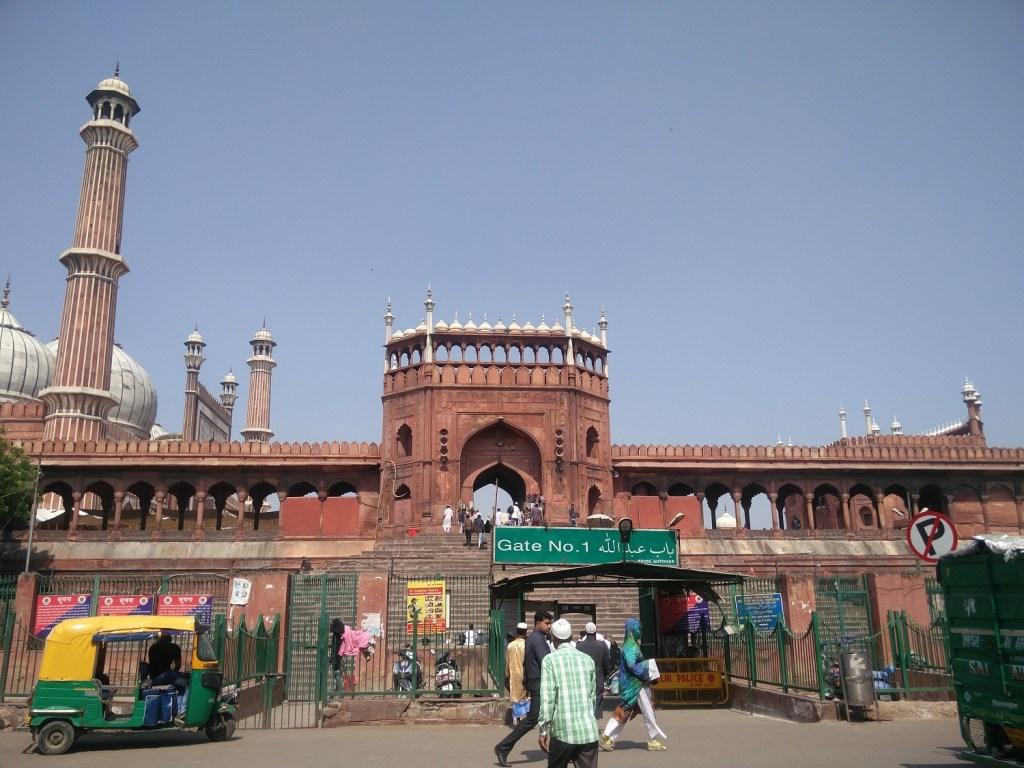 jama masjid new delhi