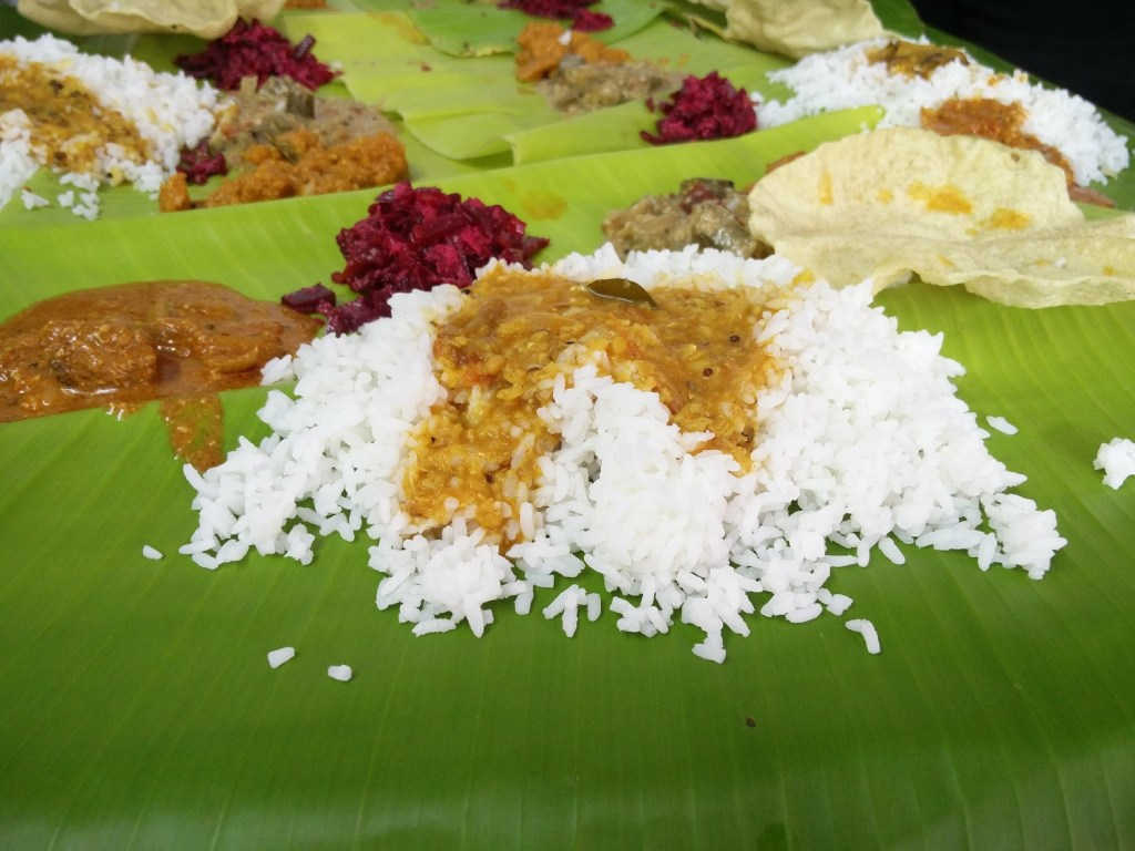 meal kerala india