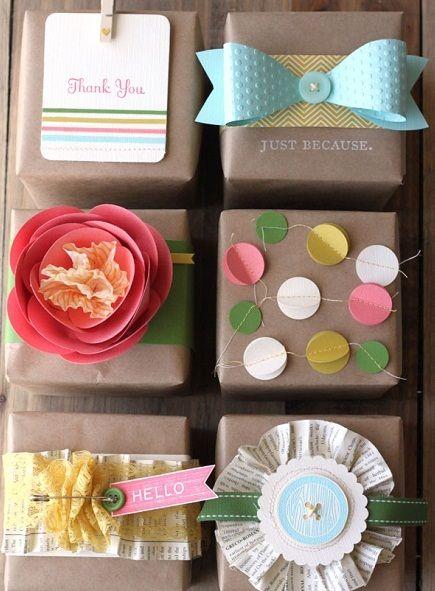 Diy : des emballages cadeaux originaux