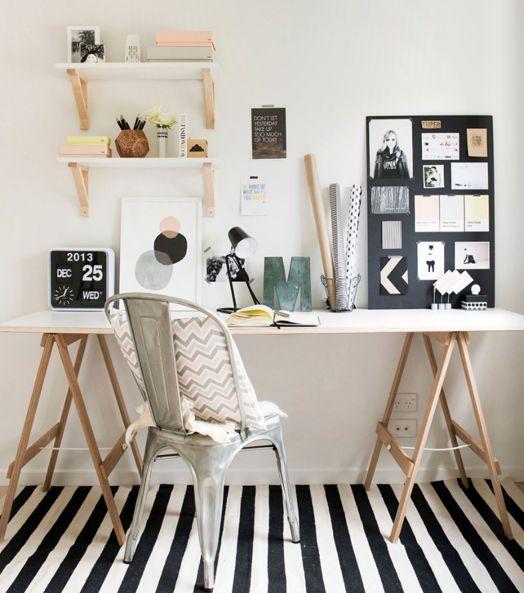 S'aménager un coin bureau à la maison