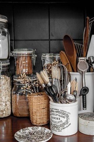 panier dans la cuisine