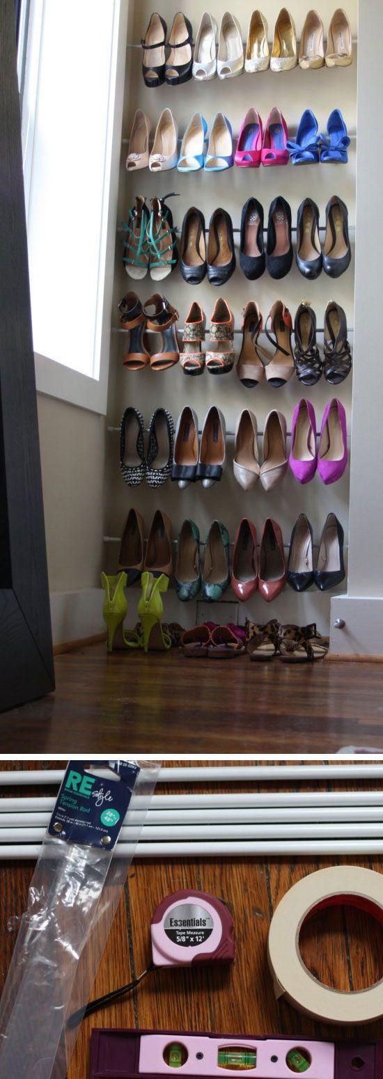 optimiser le rangement des chaussures bee organis e. Black Bedroom Furniture Sets. Home Design Ideas
