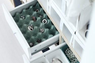 réutiliser une boite d'oeufs