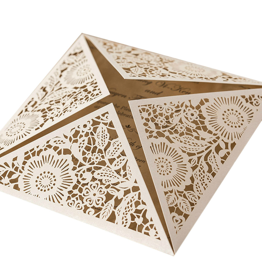 Laser Cut Invitation Cards