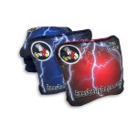 Red & Blue Lightning Pro Series Set of 8 Beer Belly Bags Performance Bags