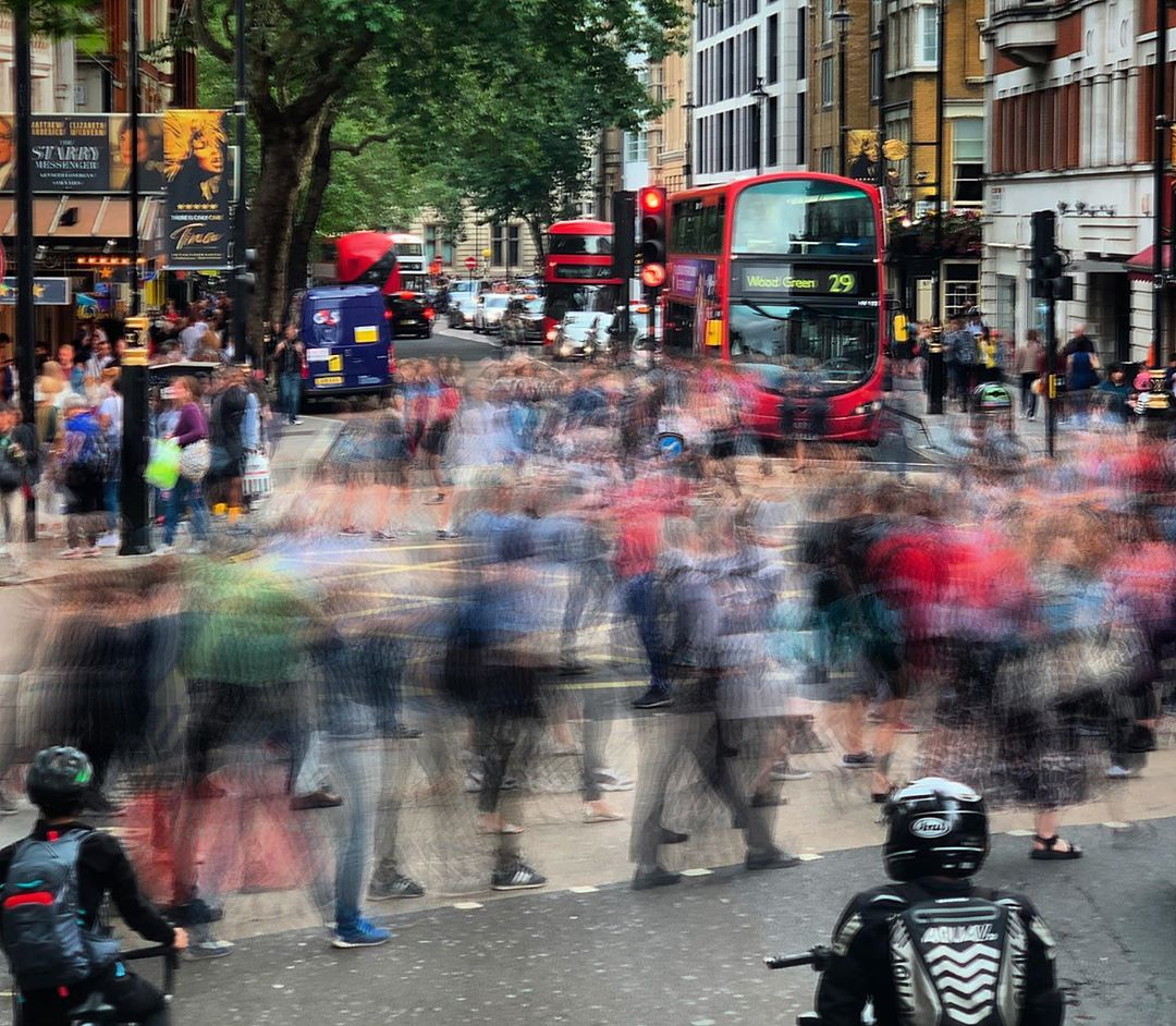 A bit crazy in London this week. Third time I've been to London in August and it seems way busier