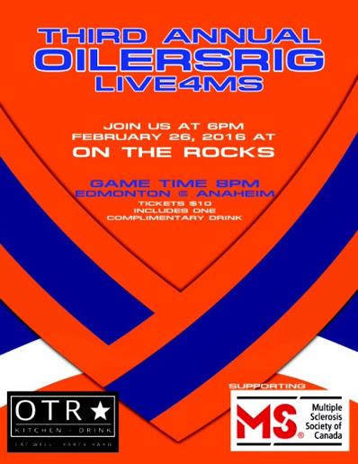 OilersRig Fundraiser 2